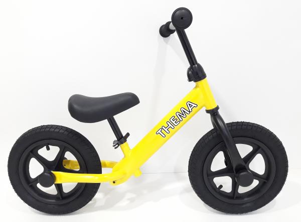 Balance bike - Bicikla za decu sa gumama na naduvavanje, žuta