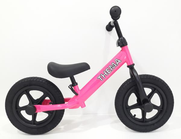 Balance bike - Bicikla za decu sa gumama na naduvavanje, pink