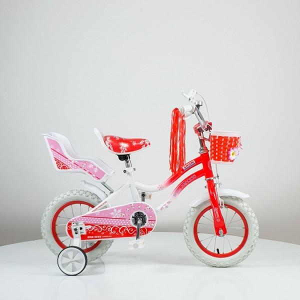Bicikla za decu ''SNOW PRINCESS'' 12inc, model 716 crvena
