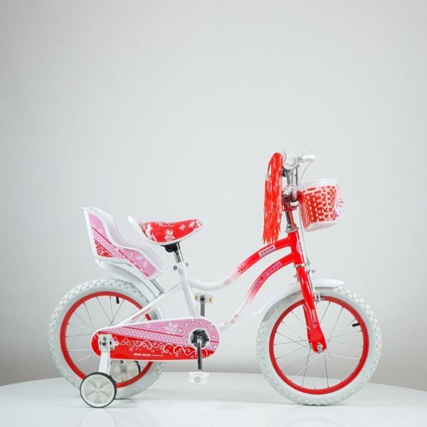 Bicikla za decu ''SNOW PRINCESS'' 16 inc, model 716, crvena