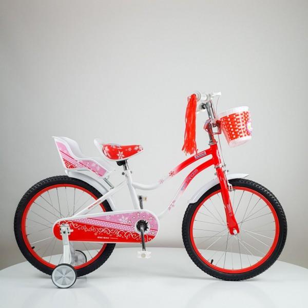Bicikla za decu ''SNOW PRINCESS'' 20 inc, model 716, crvena