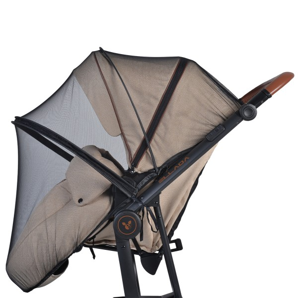 Univerzalni komarnik za dečija kolica crna NOVO