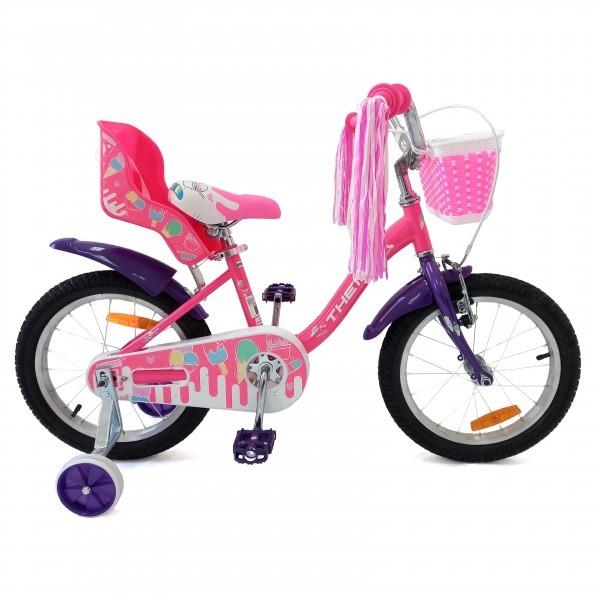 Bicikla za decu 16inc, pink