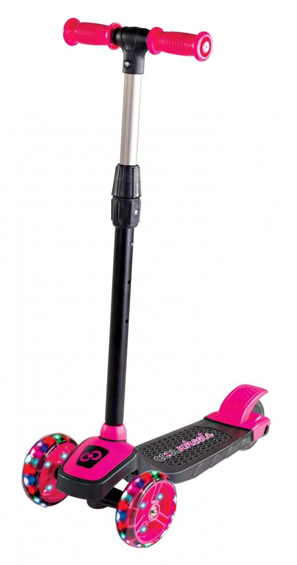 Trotinet za decu do 40kg Twist Cool, pink