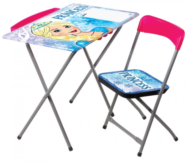 Sklopivi drveni sto i stolica za decu, Princess