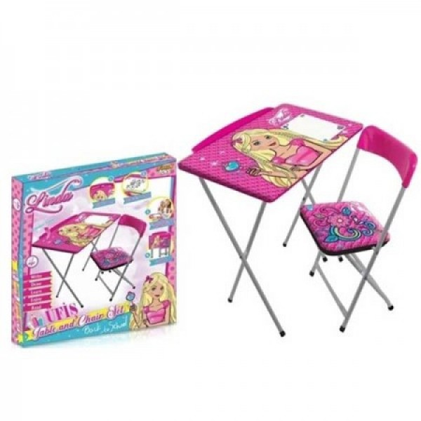 Sklopivi drveni sto i stolica za decu, Linda