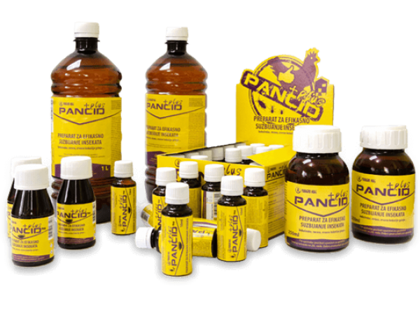 Pancid Plus tečni koncentrovani insekticid 50ml