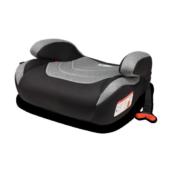 LIONELO Auto sedište-Booster za decu 22-36 kg LUUK FIX Sivo