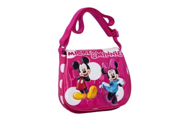 Disney dečija torba na rame MINNIE & MICKEY Pink