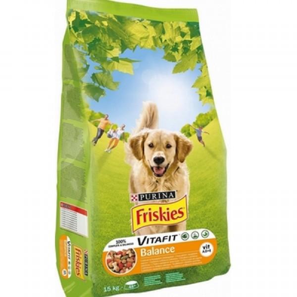 Friskies Suva hrana za pse Balance sa povrćem 2.4 Kg