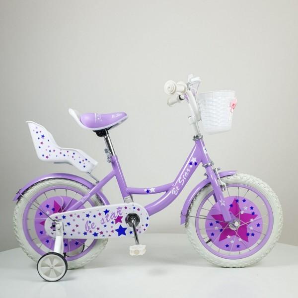 Bicikla za decu Model 709-12 ''BE STAR'' Ljubičasta
