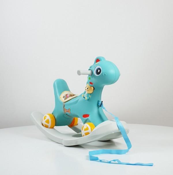 Dečija klackalica  Konjić ''DINO BABY'' model 625 Plavi