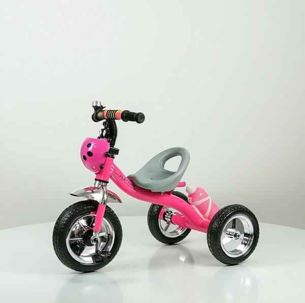 Tricikl bez tende Happybike, model 434 roze