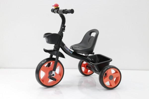 Tricikl za decu ''NANI 2'' model 426-2 crni ram - oranž točkovi