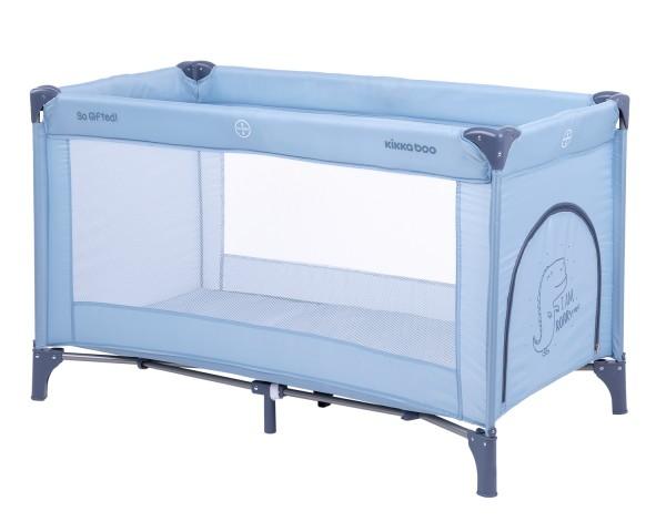 KikkaBoo Krevetac za bebe SO GIFTED Plavi - jedan nivo