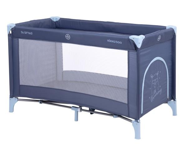 KikkaBoo Krevetac za bebe SO GIFTED Teget - jedan nivo