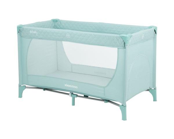 KikkaBoo Krevetac za bebe MEDLEY Mint - jedan nivo