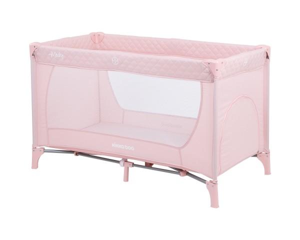 KikkaBoo Krevetac za bebe MEDLEY Pink - jedan nivo