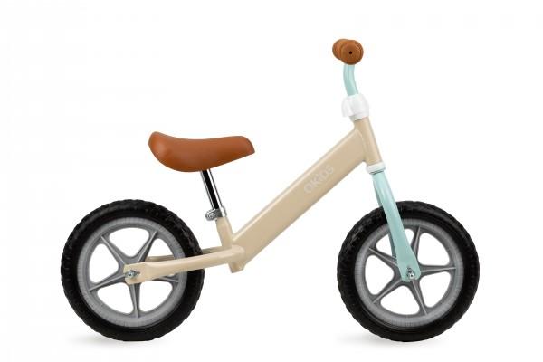 QKIDS bicikla za decu bez pedala Balance Bike FLEET Braon