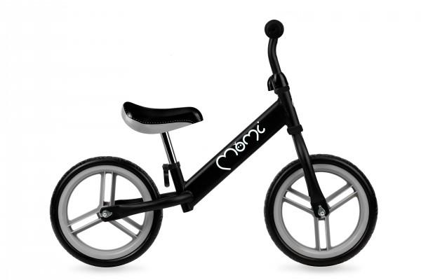MoMi bicikla za decu bez pedala Balance Bike NASH Crna