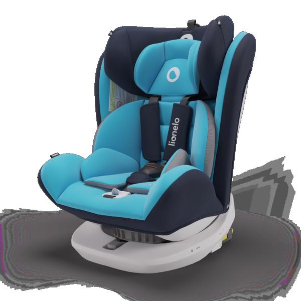 LIONELO auto sedište za decu 0-36kg BASTIAAN Plavo