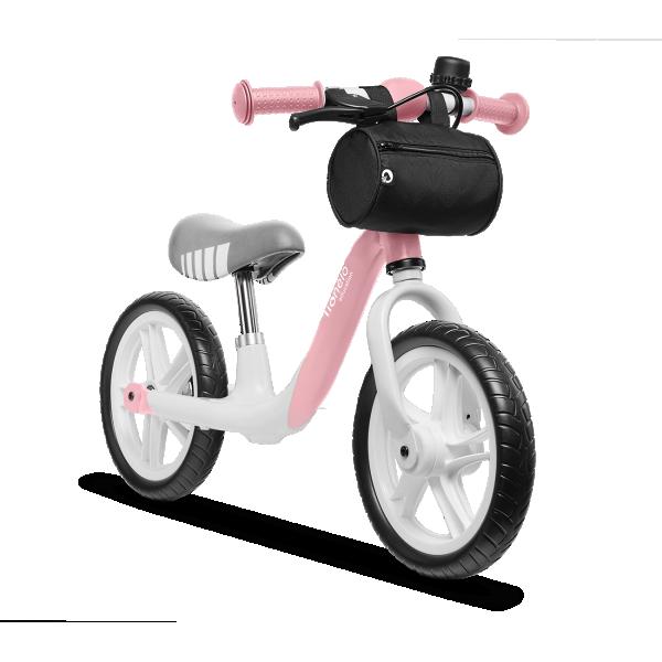 LIONELO bicikla za decu bez pedala Balance Bike ARIE Roze