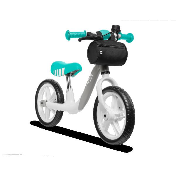 LIONELO bicikla za decu bez pedala Balance Bike ARIE Siva