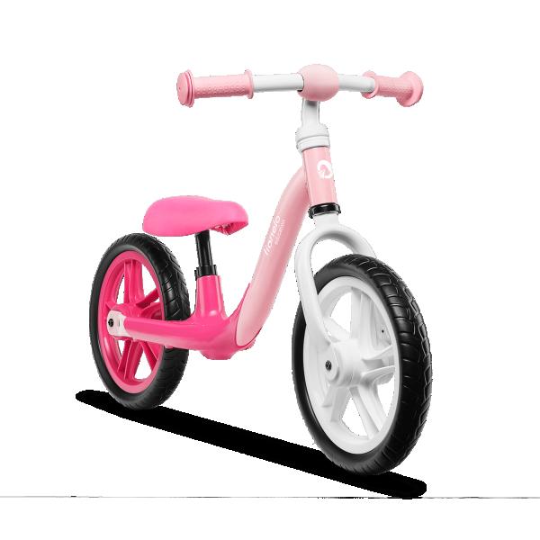 LIONELO bicikla za decu bez pedala Balance Bike ALEX Roze