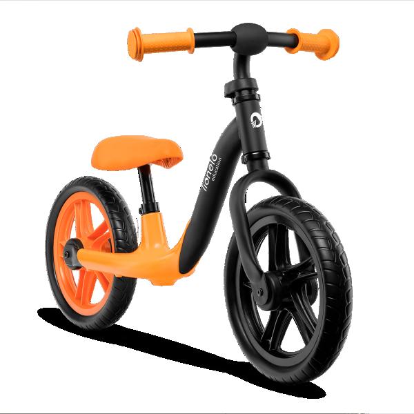 LIONELO bicikla za decu bez pedala Balance Bike ALEX Narandžasta
