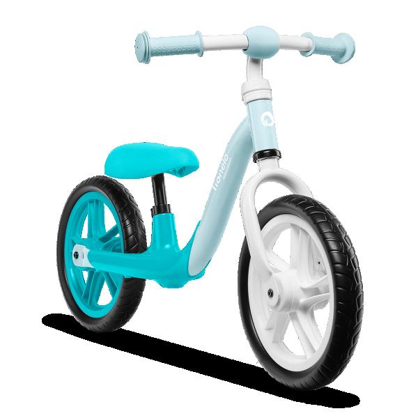 LIONELO bicikla za decu bez pedala Balance Bike ALEX Tirkizna