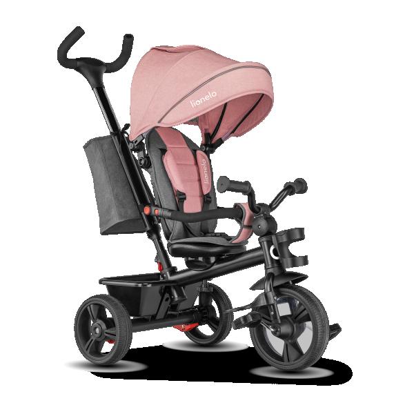 LIONELO tricikl guralica za decu HAARI Roze