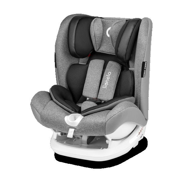 LIONELO auto sedište za decu 9-36kg OLIVER Sivo