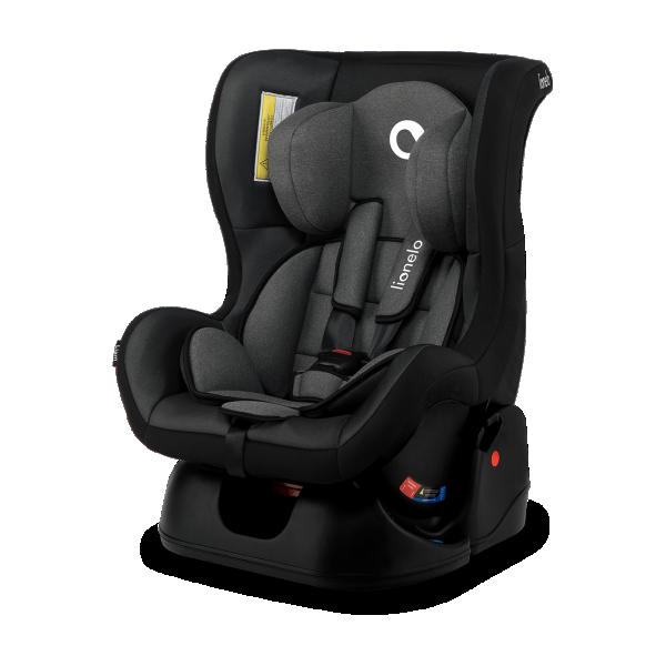 LIONELO auto sedište za decu 0-18kg LIAM Crno - Sivo