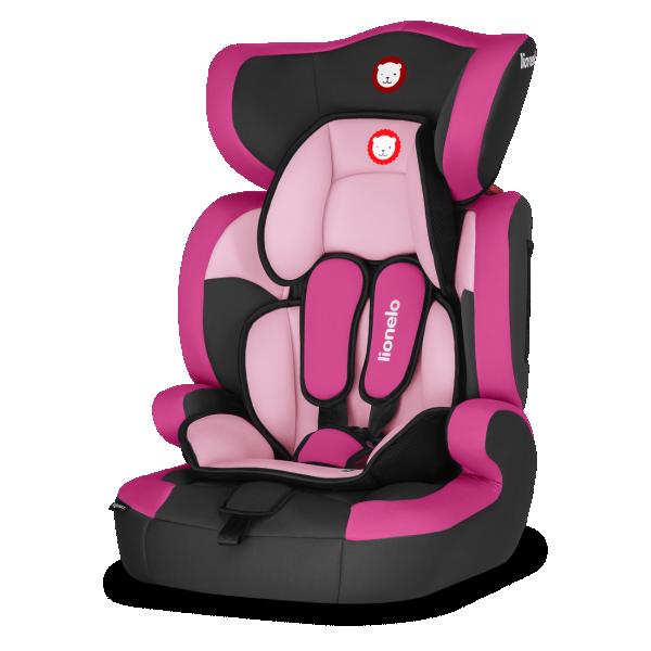 LIONELO auto sedište za decu 9-36kg LEVI ONE 2u1  Pink