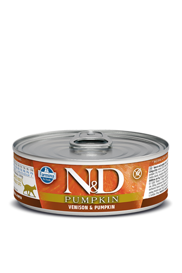 N&D Vlažna hrana konzerva Cat Pumpkin Venison&Pumpkin 80g