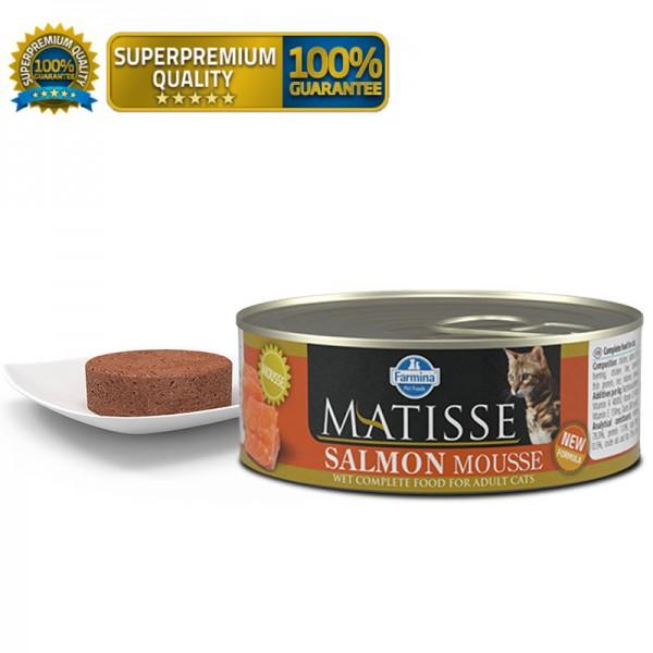 Matisse Vlažna hrana Cat Mousse Salmon 85g