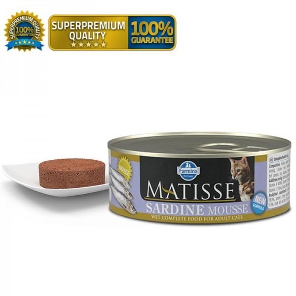 Matisse Vlažna hrana Cat Mousse Sardine 85g