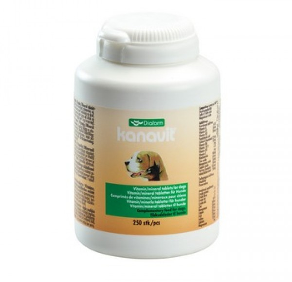 Diafarm tablete Kanavit vitamin/minerali (250 tableta)