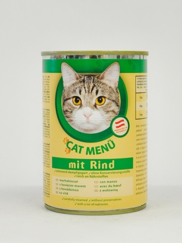 Cat Menu Vlažna hrana govedina 415g