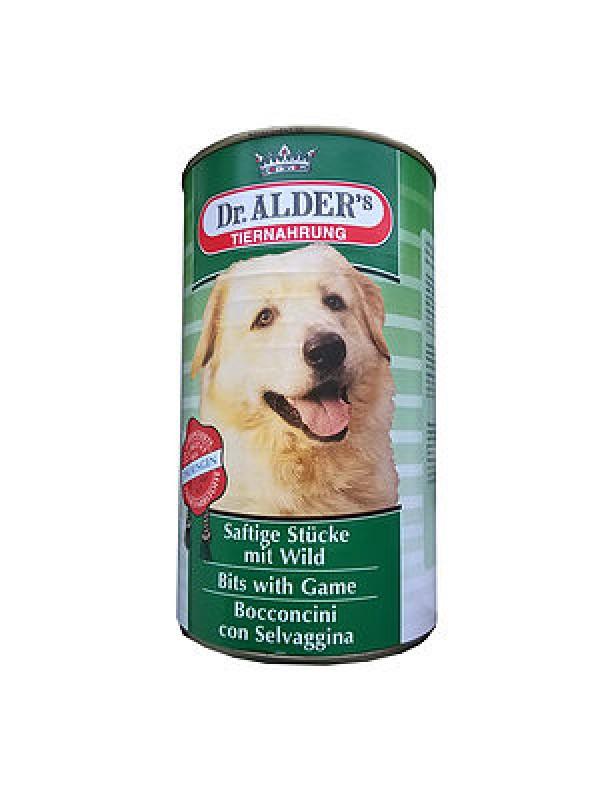 Dr. Adler Vlažna hrana Komadići divljač 1200g