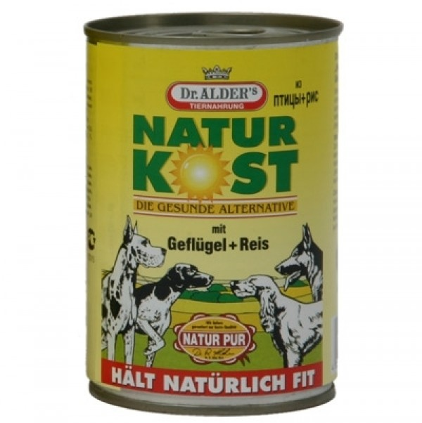 Natur kost Vlažna hrana pilet/pirinač 400 g