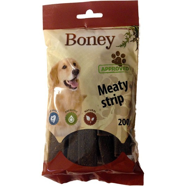 Boney meaty strip 200g