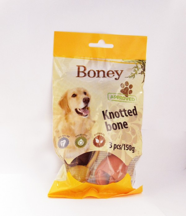 Boney Knotted bone 3 pcs/150 g