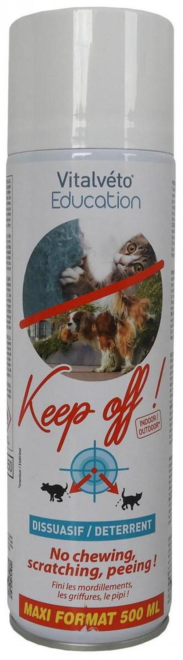 VitalVeto Get Off sprej za edukaciju-odbija pse i mačke 500ml