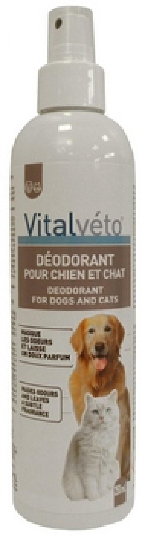 VitalVeto Dezodorans za pse i mačke uklanja neprijatne mirise sa životinje (250ml)