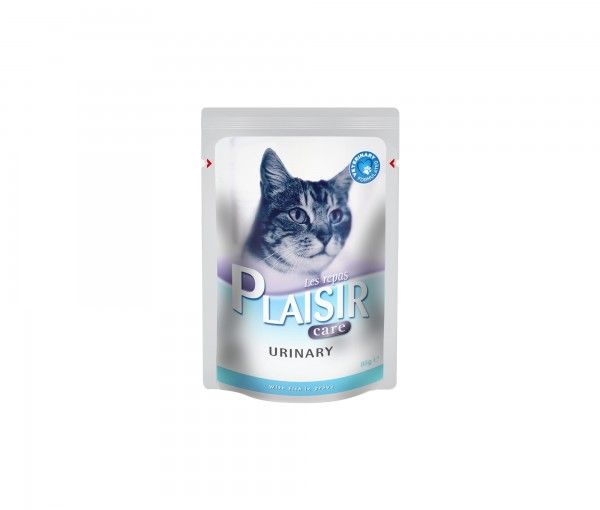 Plaisir Care Vlažna hrana preliv za mačke Urinary 85g