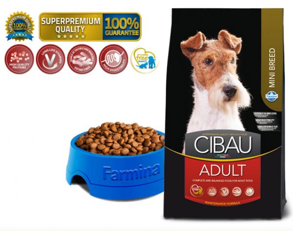 Cibau Suva hrana Superpremium Adult Mini 800g