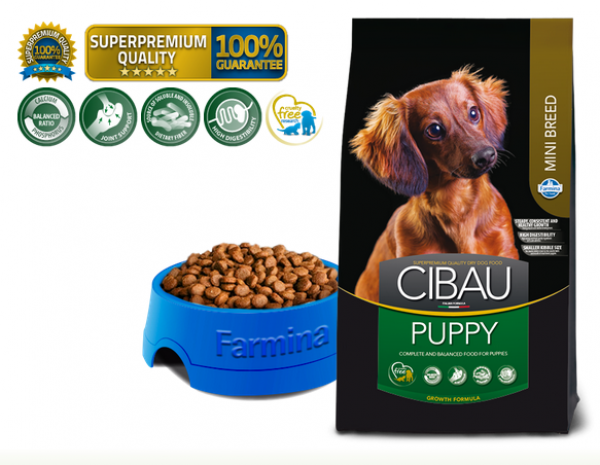 Cibau Suva hrana Superpremium Puppy Mini 800G
