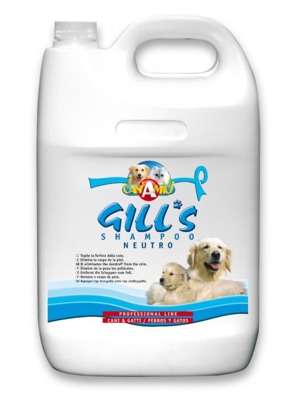 GILLS neutralni šampon za pse i mačke 5l