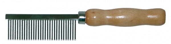 Česalj drveni razredjeni zupci